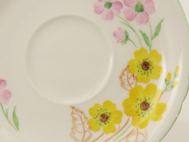 SHELLEY シェリー イエローフラワーズ Yellow flowers ティートリオ